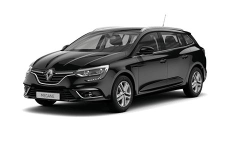 Renault Megane in schwarz Krügel Automobile